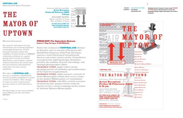 Mayor Of Uptown Press Lelease